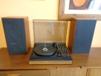 Vintage 1970's Fidelity UA10 Stereo Record Player