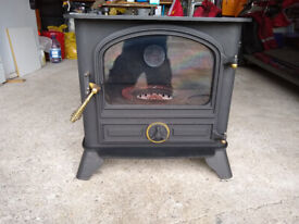 Bubble Oil fired stove
