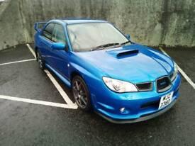 Subaru impreza wrx 2.5t hawkeye ( not evo honda ford vxr )