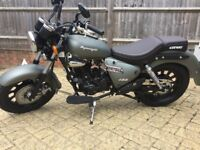Keeway Superlight 125cc, Very low mileage
