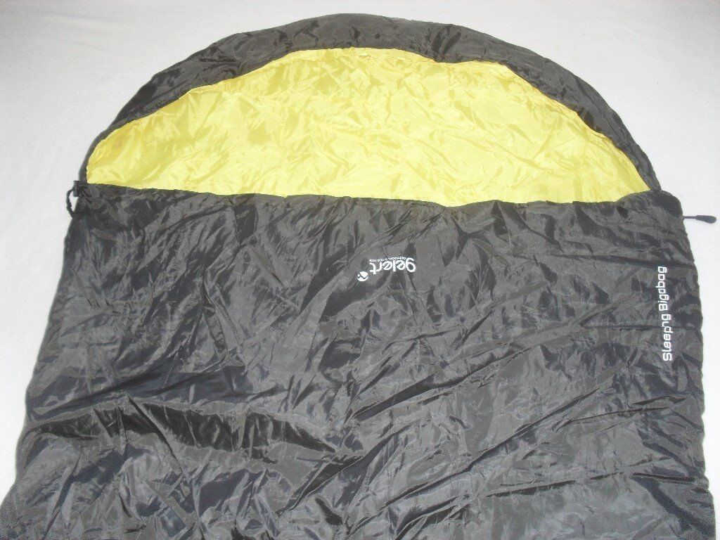 GELERT BIG A BAG - VERY LARGE SLEEPING BAG COULD POSSIBLY BE A DOUBLE WITH STRONG CARRYING BAG