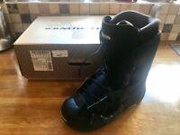 Black Salomon Maori Snowboard Boots (BNIB) UK Size 8