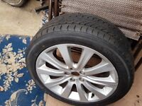 Yokohama 205/50R17 on 17 inch alloy wheel