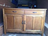 Old sideboard Free local delivery!