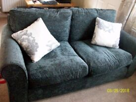 argos 2 seater new sofa -ng6 7ap rrp £279