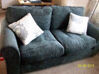 argos 2 seater new sofa -ng6 7ap rrp £279