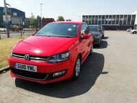 VW POLO 1.2, RED, THREE DOOR. EXCELENT CONDITION