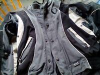 Belstaff black/silver motorcycle jacket size M