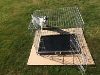 Pet Dog folding crate