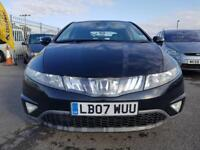 HONDA CIVIC 2.2 i-CTDi ES 5dr (black) 2007
