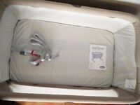Chicco Next2me Side Sleeping Crib - Dove Grey only £120