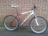 Kona BLAST Mountain Bike 27 speed Mavic Deore Rock Shox