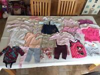 Baby girl bundle 0-3 and 3-6