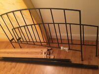 Iron bed frame (king/5ft)