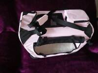 Small dog carrier (baby pink )