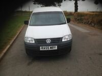 VW Volkswagen caddy 2.0tdi,2005, 107598 warranted miles.no vat