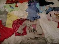 BUNDLE GIRLS CLOTHES AGE 12/18 MONTHS