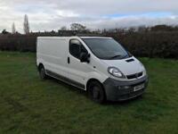 2005 Vauxhall vivaro lwb mot may £1400 Lwb van ready for work