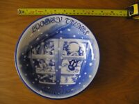 Rare Looney Tunes Warner Brothers Plate Bowl Collectable Tokai Bank Like New Collect ME13
