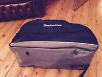 Small black travel bag/holdall from Borderline