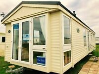 2 bed dg & ch static caravan for sale NE63 9YD for sat nav situated on northumberland coast