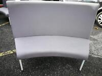 Curved office or waiting area sofas and chairs