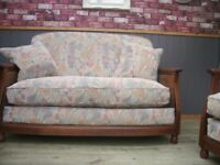 Stunning Ercol Bergere Sofa and Pair of Chairs