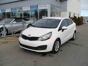 2014 Kia RIO LX BLUETOOTH/SIEGES CHAUFFANTS