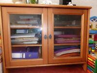 Glass Fronted Unit From Ikea