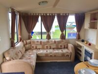 GREAT VALUE STARTER CARAVAN FOR SALE. NORTHUMBERLAND COAST WITH AMAZING SEA VIEWS.