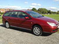CITROEN C5, 6 SPEED, GOOD ON FUEL, SPACIOUS VEHICLE, WELL LOOKED AFTER WITH SERVICE HISTORY.