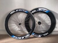 HED JET 60/90 Carbon Clincher Wheels 650c - TT, Time Trial, not Mavic, Zipp