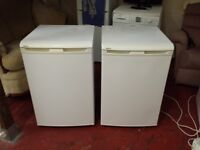 beko 55cm wide under counter freezer (one on right in pic)