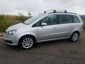 Vauxhall zafira 1.8 petrol. 2006. Two former keepers. 84000miles. Mot 09/09/2018.
