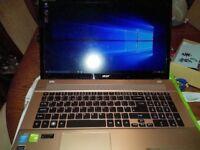 acer aspire v3 772g 17inch i7 gaming laptop