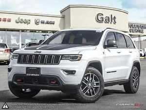 2017 Jeep Grand Cherokee TRAILHAWK | LUXURY GRP | DVD | NAV |