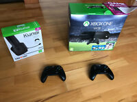 Xbox One like new still guaranteed 2 controllers + Forza + Triton Headset