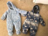 Boys clothes bundle 34 items 3-6 months joblot snowsuit, t shirts, trousers, vests ect