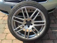 "Audi/VW rs style 18"" 5x100 pcd wheels"