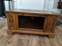 Solid Oak TV Unit / TV Stand