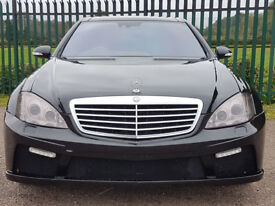 Mercedes Benz S500 S65 Conversion With Night Vision Dual Pan Glass Roof & Blinds Massage Seats