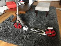 Razor A5 Lux Scooter - Silver/Red