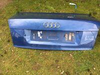 Audi A4 B6 Blue Boot Lid