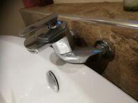 Chrome Bath Tub Mixer Tap