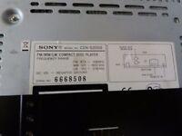 Sony car stereo cd player/radio