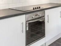 Zanussi electric hob and Hotpoint electric oven