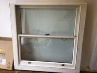 Large Double Glazed Wooden Sash Window