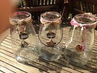 16 Vintage Style Milk Churn Vases - Wedding Table Centres