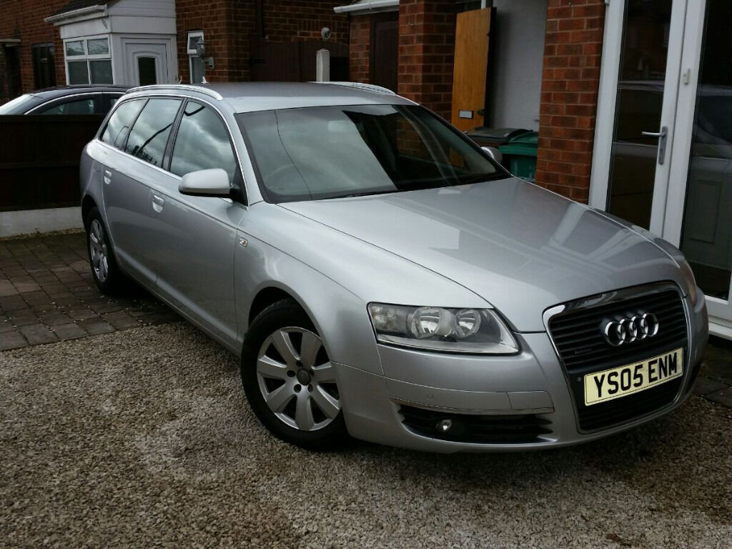 2005 audi a6 3 0 tdi se quattro sat nav full leather. Black Bedroom Furniture Sets. Home Design Ideas