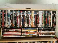 60 dvds for £50 or 30 for £25